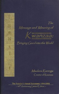 Message and Meaning of Kwanzaa Book Cover